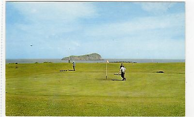 THE GOLF COURSE, NORTH BERWICK: East Lothian postcard (C7465)