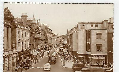 HIGH STREET, INVERNESS: Inverness-shire postcard (C7494)
