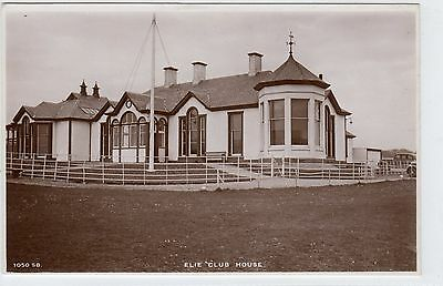 GOLF CLUB HOUSE, ELIE: Fife postcard (C6958).