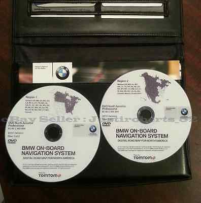 NEW 2015 BMW Navigation DVD Map Update - East & West PROFESSIONAL SET iDrive CCC