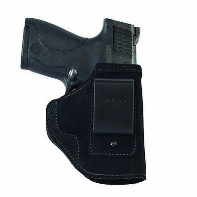 Galco STO800B Stow-N-Go ITP Holster Black Leather RH for Glock 43