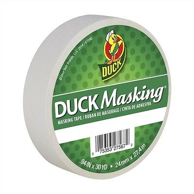 White Duck Masking Color Masking Tape .94 inch x 30 yd.
