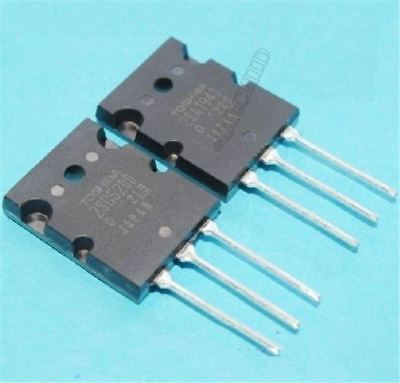 Power Transistor 1Pair 2Sa1943/2Sc5200 Pnp New Ic P