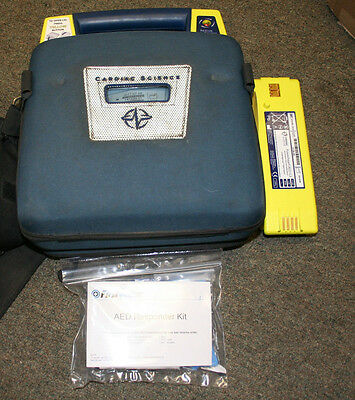 Cardiac Science AED Powerheart G3 Automatic with Battery and Pads