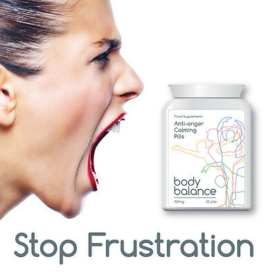 Body Balance Anti-Anger Calming Pills Stabilise Your Mood Stop Aggression