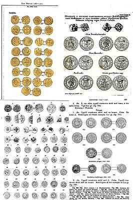 DVD - 150 books on coins of Denmark Norway Sweden Scandinavia Vikings PDF