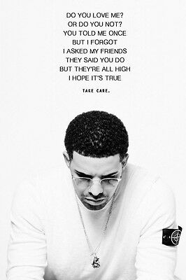 Drake Quote poster 24 X 36