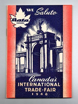 NINE YEARS OF PROGRESS BATA SHOE COMPANY Canada International Trade Fair 1948