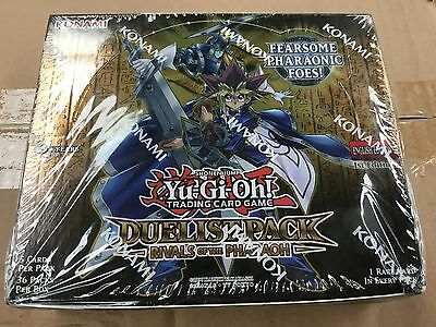 Yugioh Rivals of the Pharoah Duelist Pack Sealed Booster Box