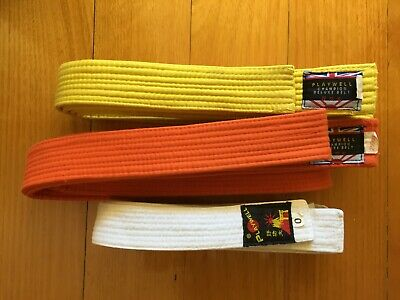 Martial Arts Yellow + Orange Belts (250cm)