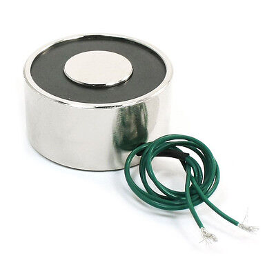XRN-XP40x20 12V 55LB 25Kg Electric Lifting Magnet Electromagnet Solenoid 40mm DT