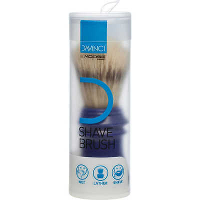 Da Vinci For Men - Shaving Brush exfoliate & warm skin for a smooth, clean shave