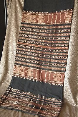Old Saba Hand Spun & Hand Woven Wraparound …beautiful and soft