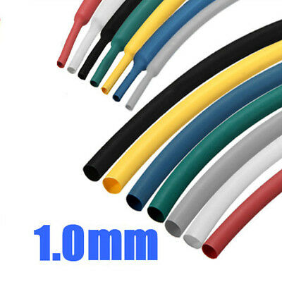 328pc Assorted Polyolefin 2:1 Halogen-Free Heat Shrink Tubing Sleeve Kit 8 sizes