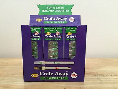 Crafe Away Filters ( For Roll Up Cigarettes )
