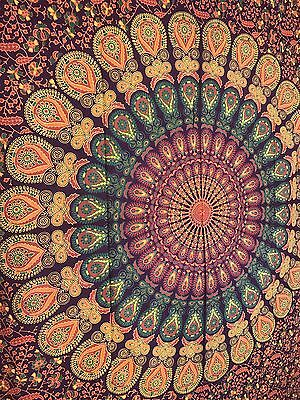 Hippie Indian Tapestry Mandala Throw Wall Hanging Bohemian Bedspread Home Decor