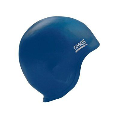 NEW Zoggs Swim Cap - Ultra Fit with Ear Section - Blue from Ezi Sports Store