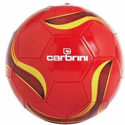 Carbrini Size 5 Footballs - Box of 32 (Wholesale), Includes Pump Adapters