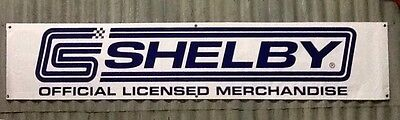 Massive 2 Meter Long  X 400mm  Shelby Banner, Shed, Garage, Man Cave, Workshop