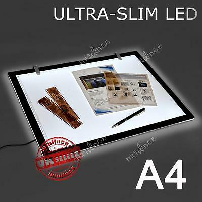 A4 Art LED Craft Design Tracing Photo Drawing Tattoo Light Box Pad Lamp Lightbox