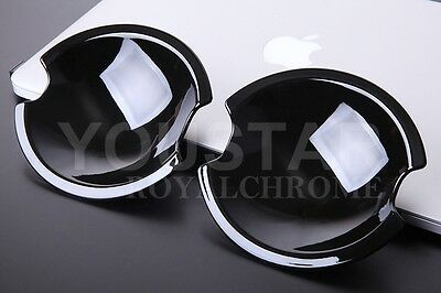 Gloss Black Door Handle Scoup Inner Cup Covers Mini R50 R52 R53 R55 R56 R57 R58