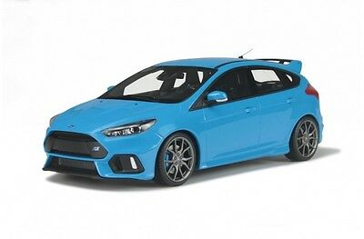 Pre Order Otto Ot200 Ford Focus Rs - 1/18 Blue Limited Edition