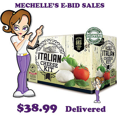 Italian Cheese Kit By Mad Millie @ $38.99 Delivered - 73514