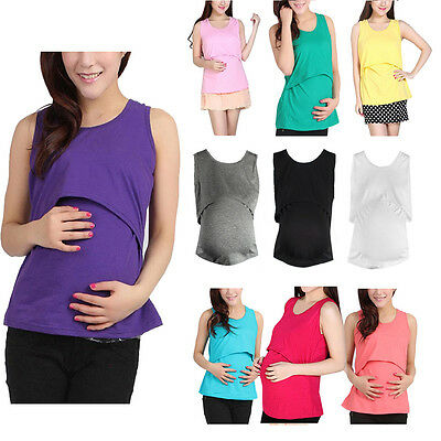 Fashion Women Pregnant Maternity Clothes Nursing Tops Breastfeeding Shirt Blouse