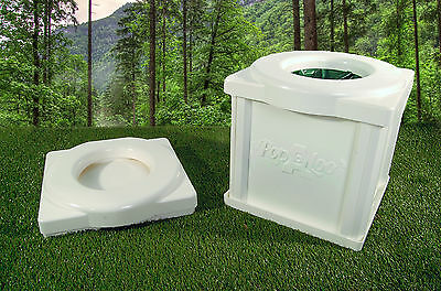 Popaloo - Compact water and chemical free camping toilet.Made in England.