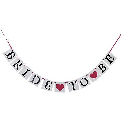 Bride To Be Party Dekoration Ammer Girlande Banner GY