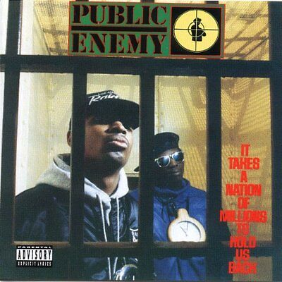Public Enemy - It Takes A Nation Of Millions To Hold Us Back NEW LP