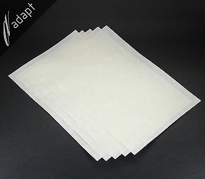 """Nomex 410 Insulation Paper 5 mil thick 5 each 8""""x12"""" Sheets Aramid Electrical"""