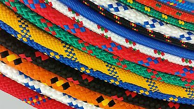 Braided polypropylene poly rope various length SALE CLEARANCE OFF CUTS
