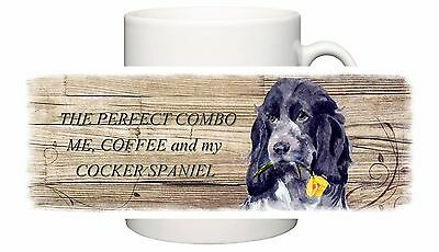Cocker Spaniel Blue Roan Dog New  Mug Combo Sandra Coen Artist Watercolour Print