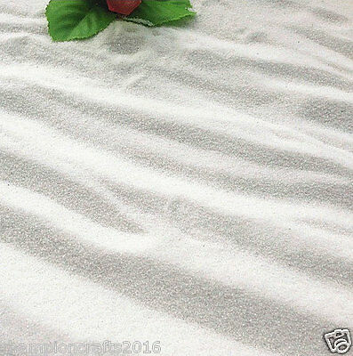 White tiny sands,glass weeny sand 0.5mm fit succulent garden terrarium planter