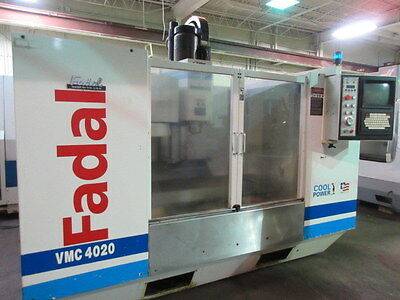 Fadal VMC-4020HT CNC Machining Center