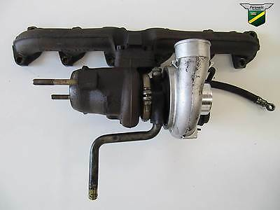 Range Rover P38 2.5 BMW Diesel Turbo Turbocharger & Manifold + warranty STC2217