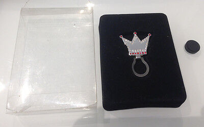 Portaocchiali Con Calamita Corona Eyeglass Holder With Magnet Crown Strass