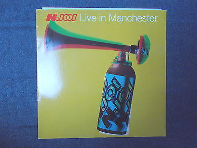 "N-Joi Live In Manchester 12"" Deconstruction 1992 PT 45252"