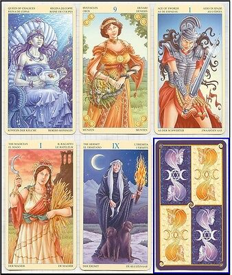 Universal Goddess Tarot New Sealed 78 Fortune Oracle Cards Deck Free Tracking