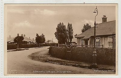 ADMIRALTY COTTAGES, INVERGORDON: Ross-shire postcard (C8571)