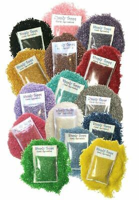 Sparkling Sugar Cake Decoration Sprinkles 30g crystals cupcake