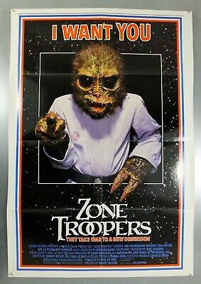 Zone Troopers - Tim Thomerson - Original American One Sheet Movie Poster