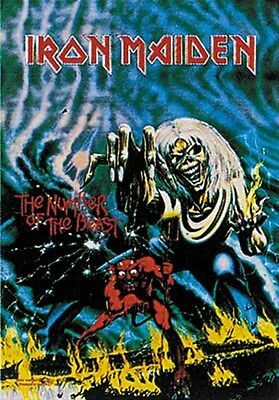 Iron Maiden Textile Poster Banner Flag Officially Licensed Rock