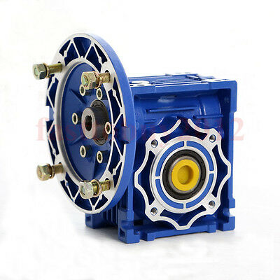 Ratio 10:1 NMRV030 Worm Gear Reducer 56B14 Speed Reducer for 120W Electric Motor