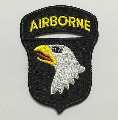 Wwii Us Army 101St Airborne Division Paratrooper Shoulder Patch Badge-1231
