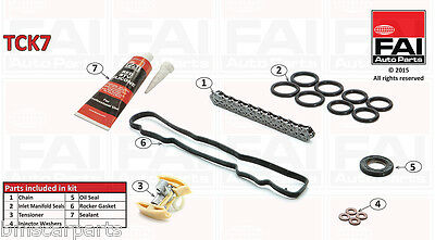 TIMING CHAIN KIT FOR CITROËN XSARA PICASSO (N68) 1.6 HDi 05/04- TCK 7