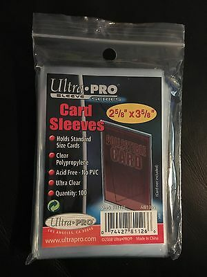 Ultra Pro Trading Card Sleeves - Standard Size - Various Quantities
