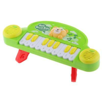 Colorful 10 Keys Plastic Electronic Keyboard Piano Developmental Musical Toy