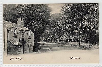 FISHERS TRYST, GLENCORSE: Midlothian postcard (C8761)
